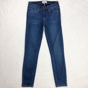 PAIGE | Verdugo Crop Skinny Jeans Reynolds Wash 25
